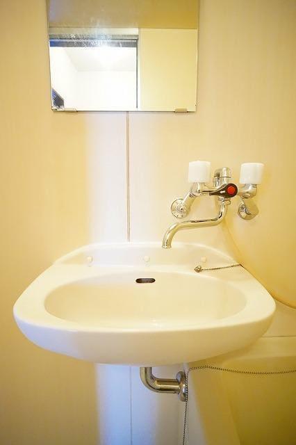 エルディム川島A 01030号室の洗面所