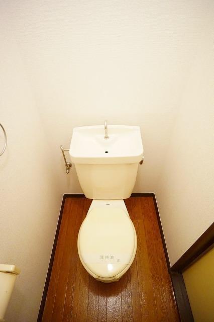 エルディム川島A 01030号室のトイレ