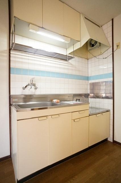 エルディム川島A 02010号室のキッチン