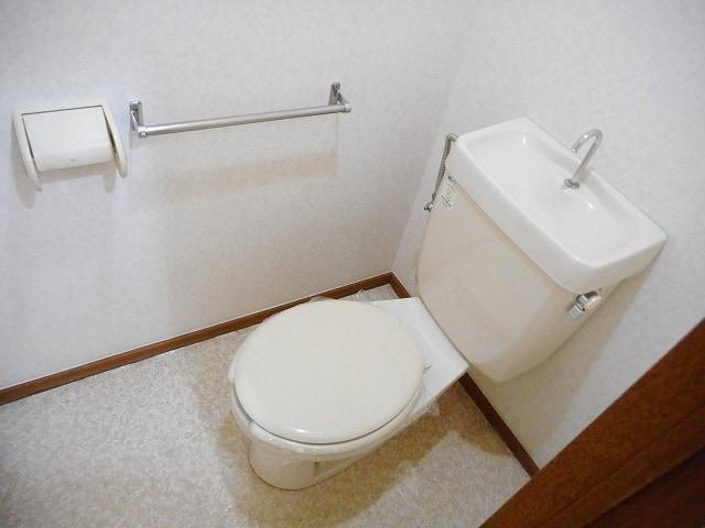 グリーンガーデン 02020号室のトイレ