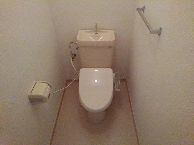 シャトー志水 302号室のトイレ