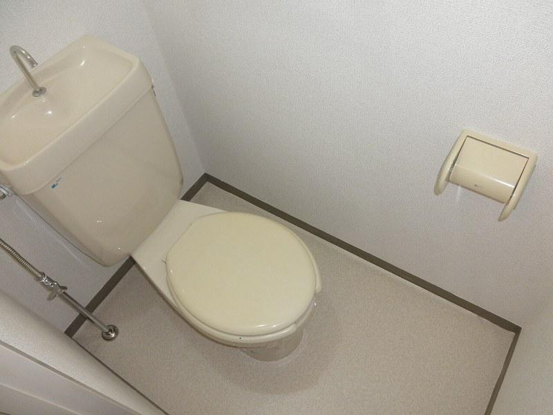 グリーンハイツこきぬ 02030号室のトイレ