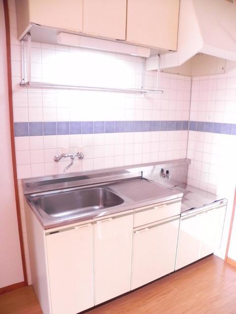 エルディムパークサイド 02010号室のキッチン
