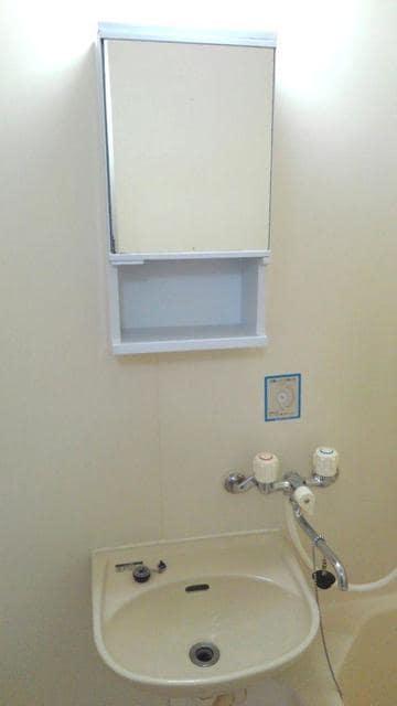 エルディム西A 01010号室の洗面所