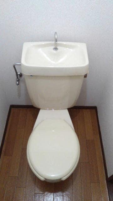 エルディム西A 01010号室のトイレ