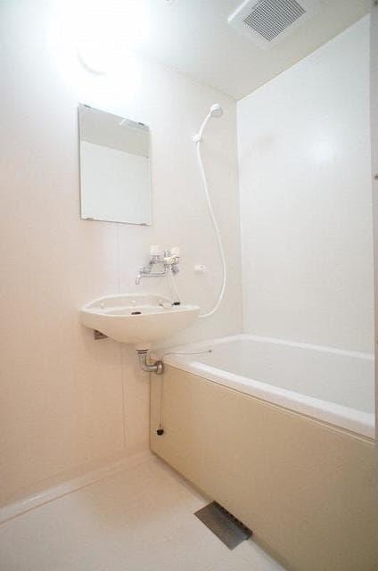 パークサイドB 02020号室の風呂