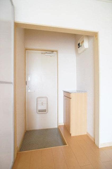 パークサイドB 02020号室の玄関