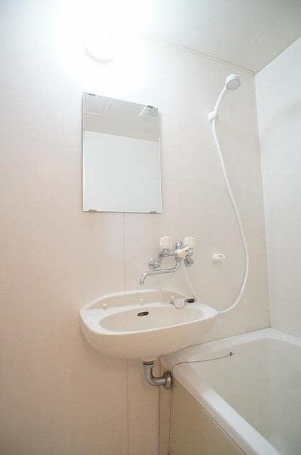 パークサイドB 02020号室の洗面所