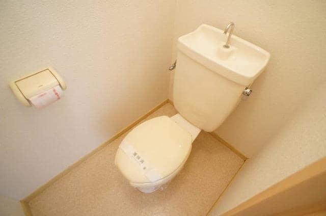 パークサイドB 02020号室のトイレ