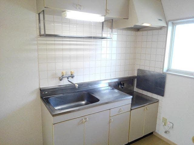 コー・メー・ハイム 01050号室のキッチン