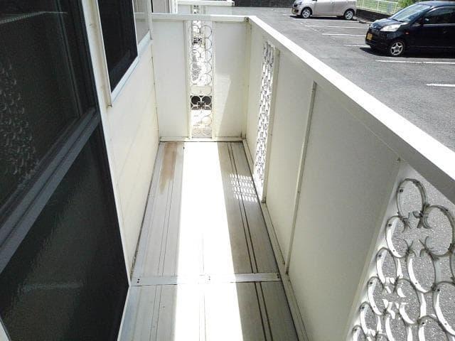 コー・メー・ハイム 01050号室のバルコニー
