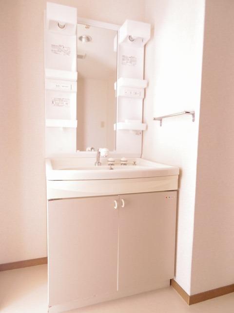 アロンディール平澤 02010号室の洗面所