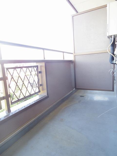 アロンディール平澤 02010号室のバルコニー