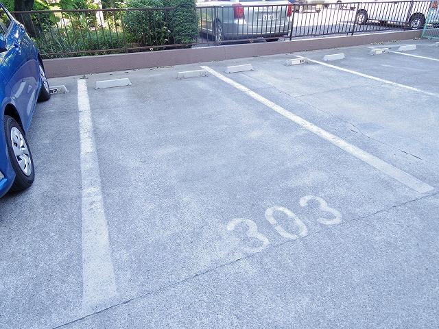 アロンディール平澤 02010号室の駐車場