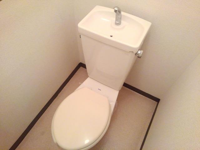 タムラハイツ 01050号室のトイレ