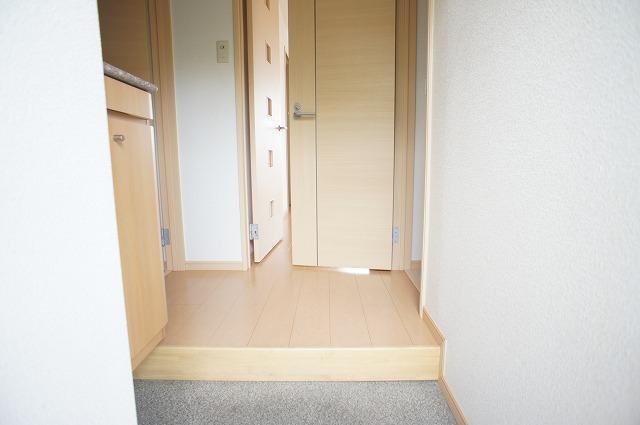 エトワール・カワナゴ 01040号室の玄関