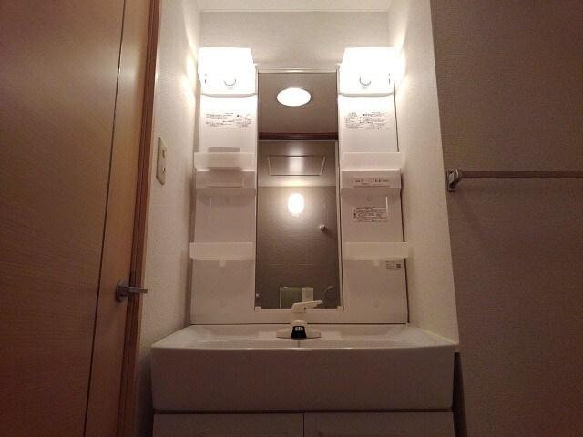 アビタシオンふじみB 201号室の洗面所