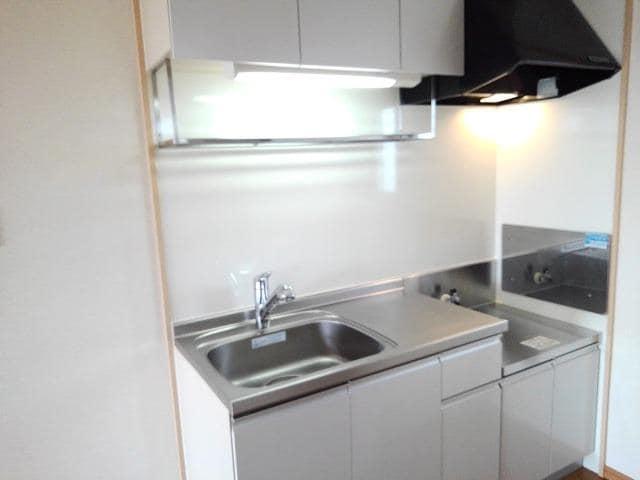 コーポ梨花 02040号室のキッチン