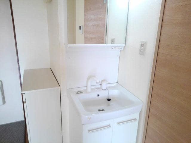 コーポ梨花 02040号室の洗面所