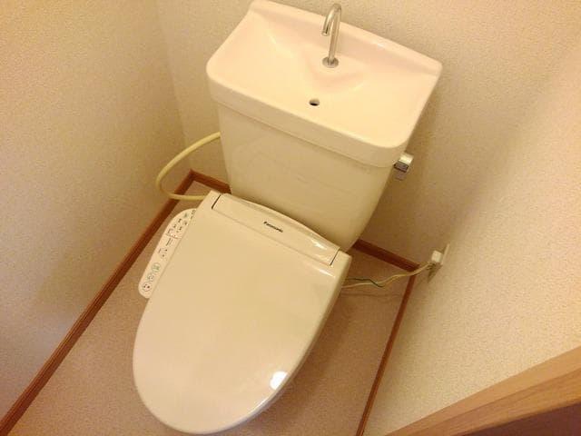 コーポ梨花 02040号室のトイレ