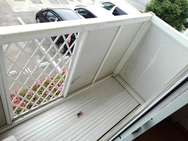 コーポ梨花 02040号室のバルコニー