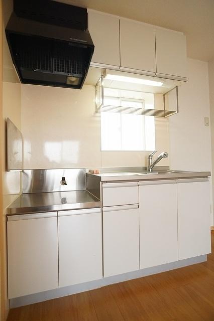 メゾンプレミールA 01020号室のキッチン