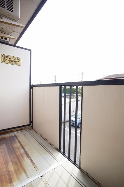 ニュ-エルディムHASHI 02040号室のバルコニー