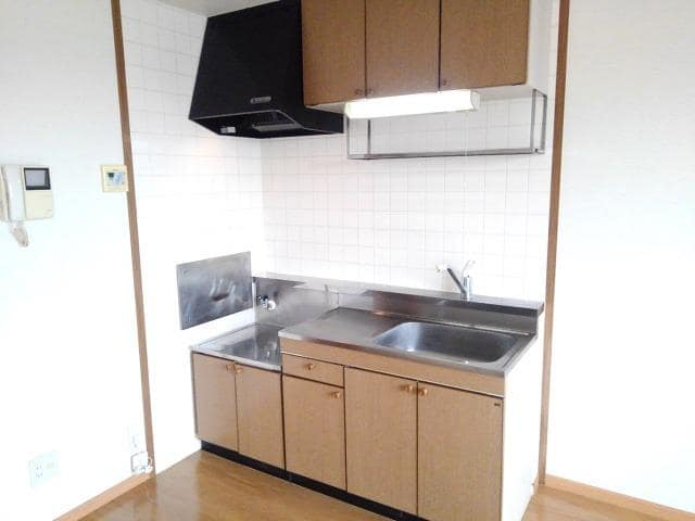 ファミールフジA 02030号室のキッチン