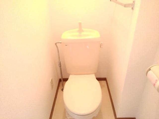 ファミールフジA 02030号室のトイレ