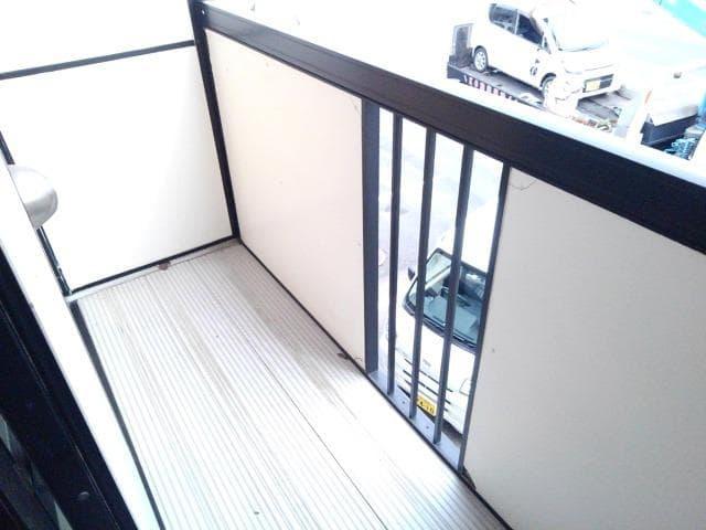 ファミールフジA 02030号室のバルコニー