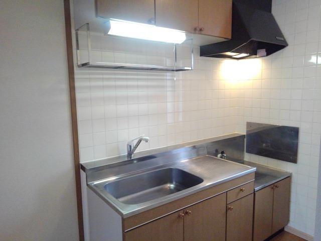 エランドールC 02030号室のキッチン