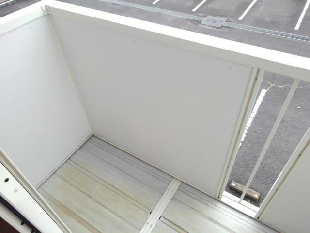 エランドールC 02030号室のバルコニー