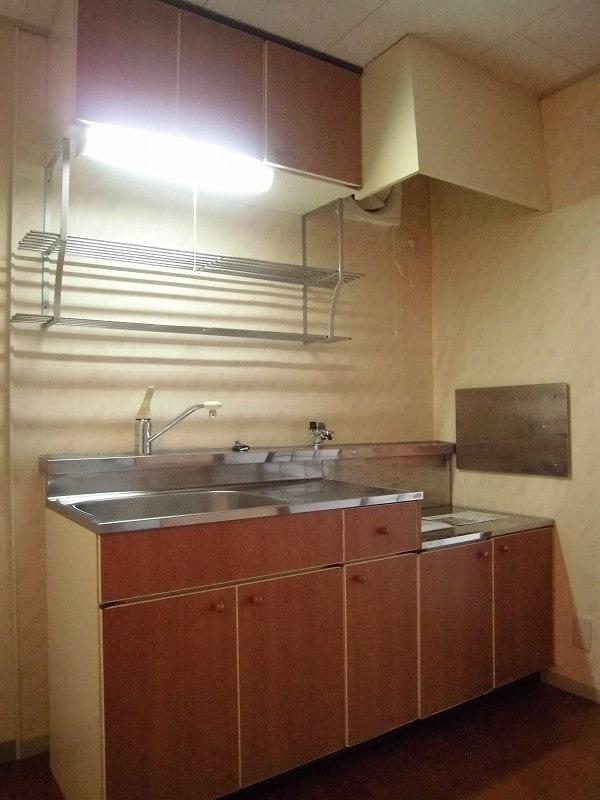 パークサイド宝木A 01010号室のキッチン