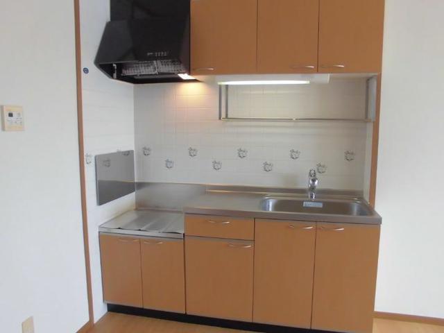スプリング・ウインド 02010号室のキッチン