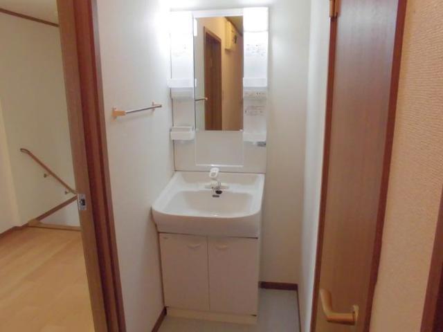スプリング・ウインド 02010号室の洗面所