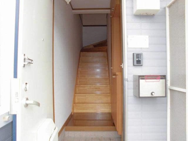 シルエーラ 02030号室の玄関