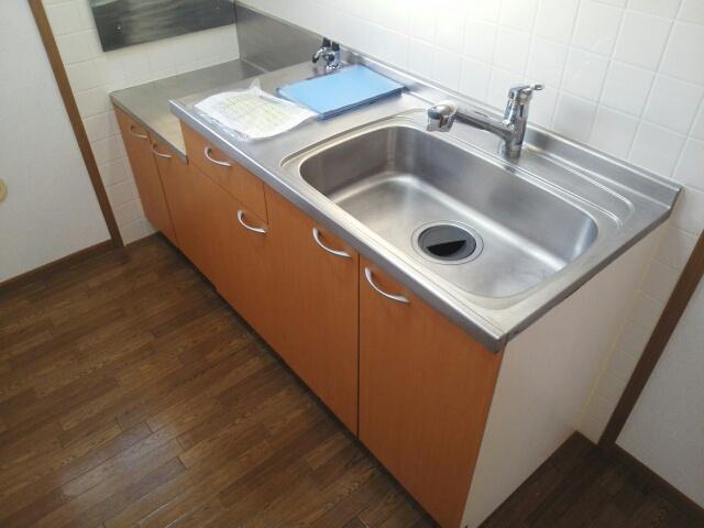 アップルハウス 205号室のキッチン