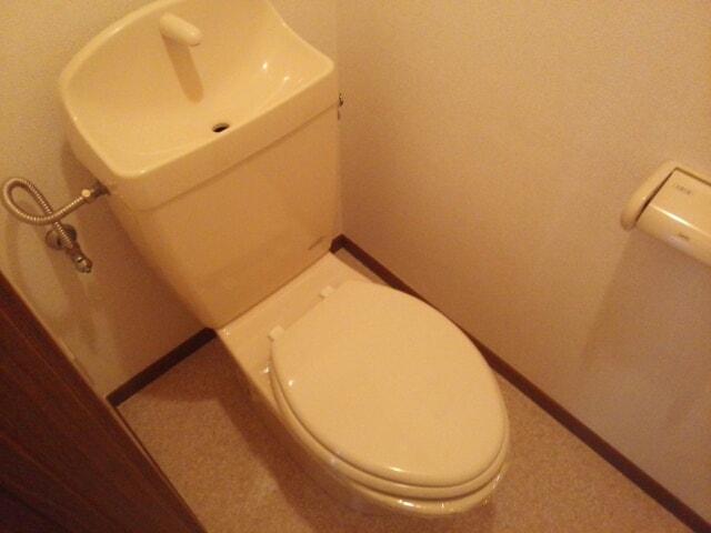 アップルハウス 205号室のトイレ