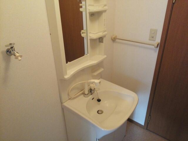 アップルハウス 205号室の洗面所