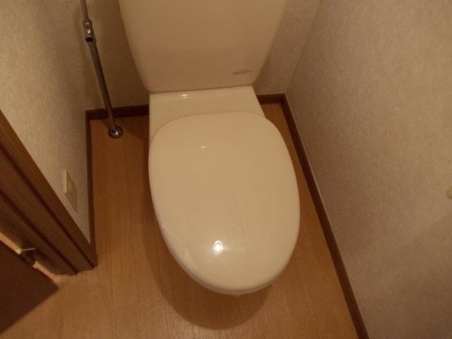 コスモスB 203号室のトイレ