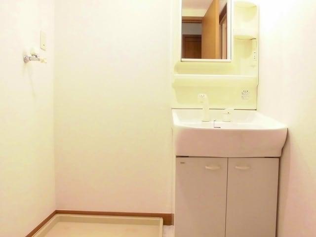 サニーヒル上土戸 01020号室の洗面所