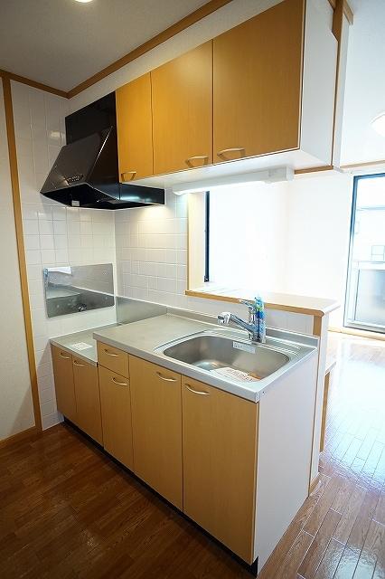 セレーノ C 02010号室のキッチン