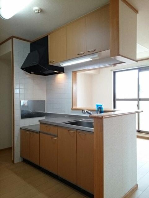 エストレーノ豊が丘 106号室のキッチン