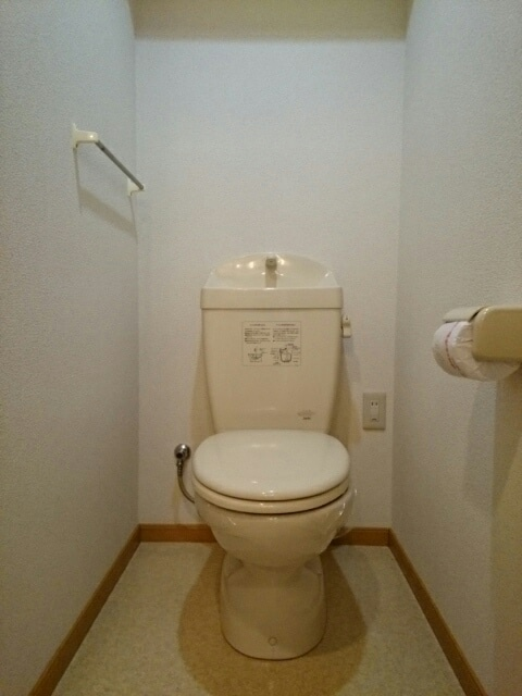 エストレーノ豊が丘 106号室のトイレ