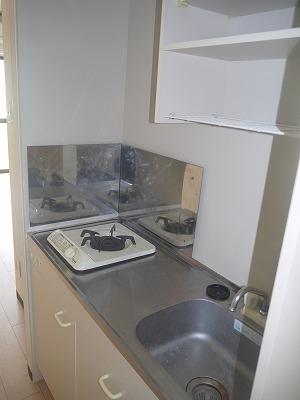カーサ オーラ・ソーレ 403号室のキッチン