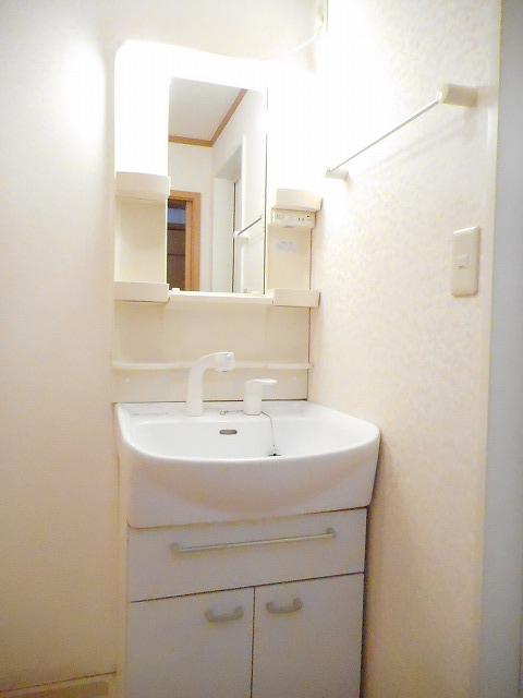 グランドール・CoCo 02020号室の洗面所