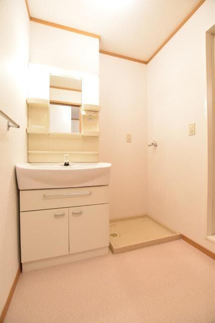 アヴァンシアA 01030号室の洗面所