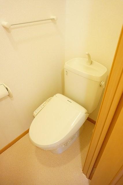サニーフィールドからたちA 02010号室のトイレ