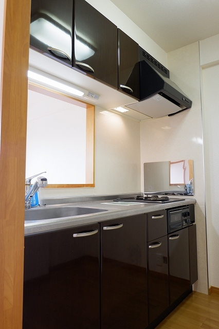 シャンクレール清瀬 02020号室のキッチン