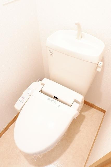 シャンクレール清瀬 02020号室のトイレ